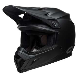 Bell MX-9 MX 9 MIPS SIZE MEDIUM ONLY Equipped Motorcycle Motorbike Off Road Motor Cross Helmet Solid Matte Black