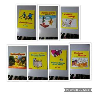 Pre-loved Curious George and other Books