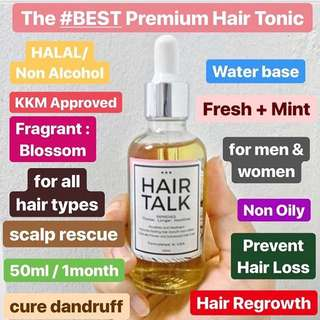 HAIRTALK PREMIUM HAIR TONIC