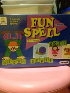 Spelling educational game