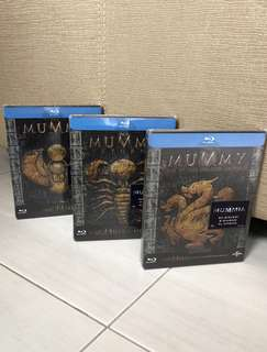 The Mummy Trilogy (Blu Ray Steelbook)