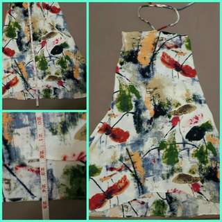 Abstract Sun dress