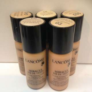 Lancôme foundations
