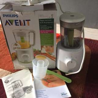 Steamer & Blender Merek Philips AVENT