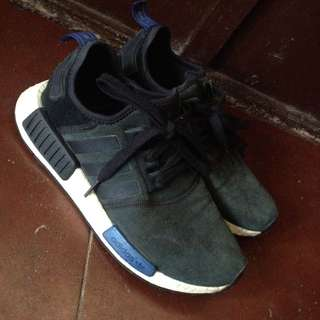 authentic NMD BLACK SUEDE