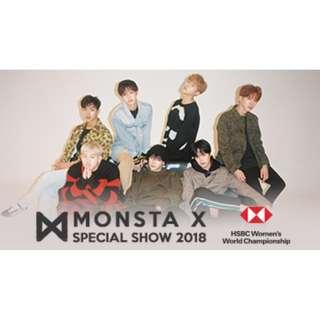 Monsta X Special Show 2018 (1 pair tickets)