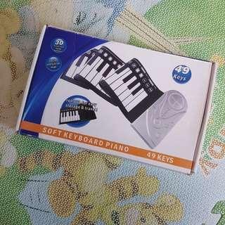 Soft keyboard piano 矽膠軟鋼琴keyboard