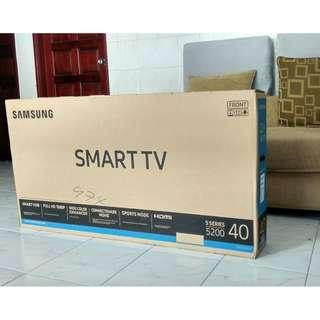 [BRAND NEW SMART TV]  Samsung 40 inch SMART TV