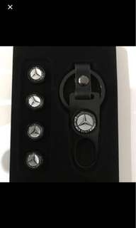 Tire Air Valve Caps for Mercedes-Benz