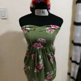 Floral Tube / Dress for petite
