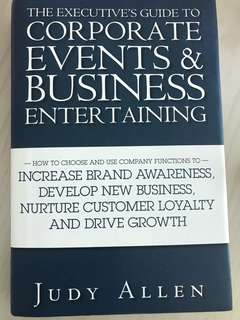 Corporate Events & Business Entertaining