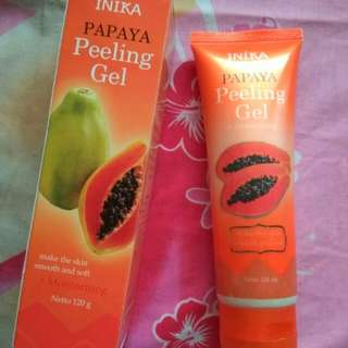 Inika papaya peeling gel