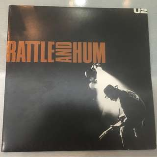 U2, Rattle And Hum, 2x Vinyl LP, Island Records ‎– U 27, 1988