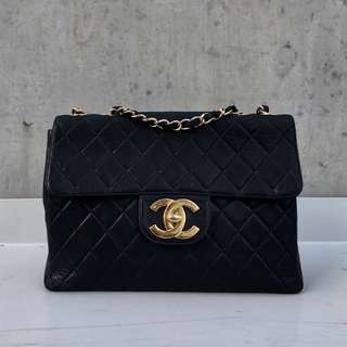 Vintage Chanel Circa Single Flap Bag