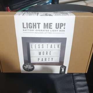 Brand new light box