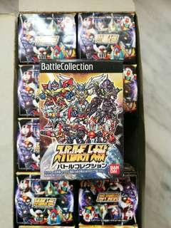 超級機械人大戰 super robot wars collection 初號機 萬能俠z 天威勇士 雷登 盒蛋 扭蛋 figure 模型 全新 絕版 懷舊
