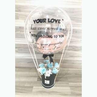 Bubble Hot Air Balloon