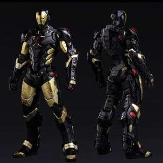 [SALE] Sentinel Re:Edit Black X Gold Marvel Now! Iron Man