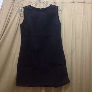 New dress hitam