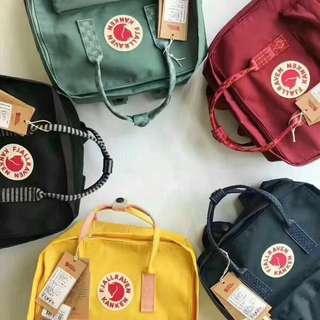 fjallraven backpack (mini & classic) 背囊