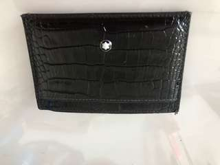 Mont blanc card holder