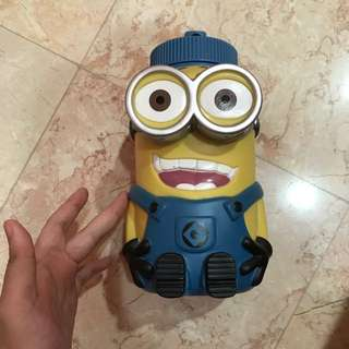 Minion water bottle