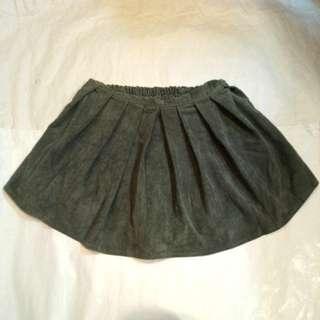 厚身短裙褲