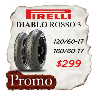 Pirelli Rosso 3 Promotion