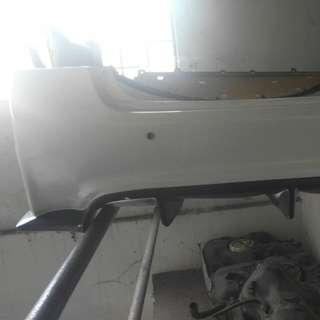 Js racing rear bumper