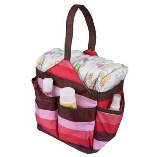 Autumnz Portable Diaper Caddy (Cherry)