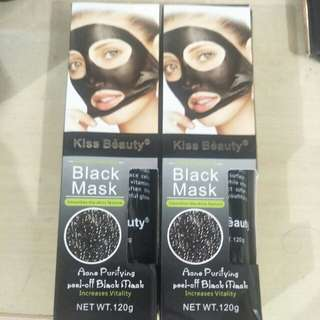 Black Mask - Left 2 Box Only