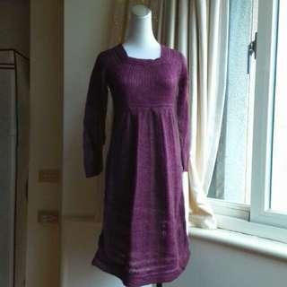 MANGO 毛海編織縷空毛衣罩衫