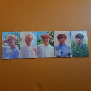 [CLEARANCE] 5pcs BTS Love Yourself Her O ver.