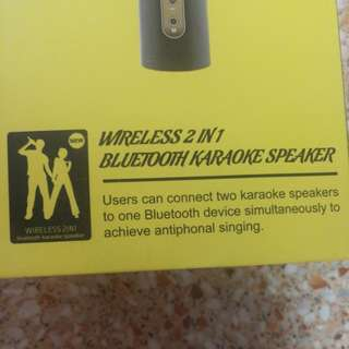 Dasen Bluetooth Microphone x2