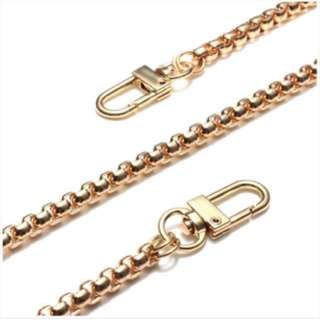High quality gold chain replacement hand bag strap