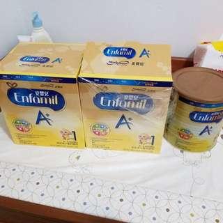 美贊臣 安嬰兒 A+ 1號 奶粉