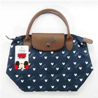 Disney longchamp bag blue