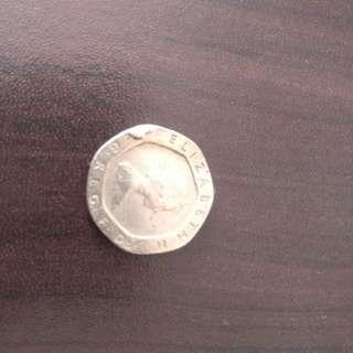 Duit coins ELIZABETH 2