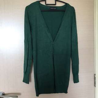Zara Green Cardigan