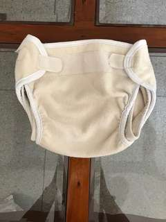 Polar Bummi polar fleece cloth diaper cover LARGE