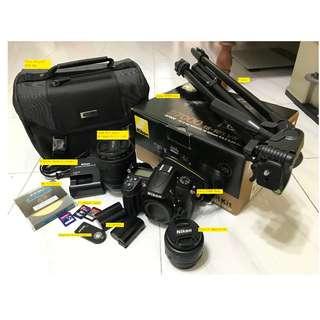 Nikon D7000 + Lenses