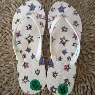 Authentic COACH slipper!