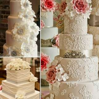 Wedding cake rental and sale