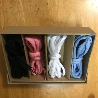 Shoe laces multiple colors from Sportshouse 運動家