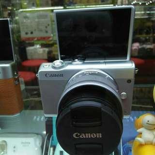 Canon M100 Lengkap Promo credit 3Menit saja