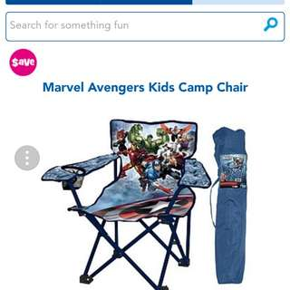 toys r us marvel avengers kids camp chair - 63% off