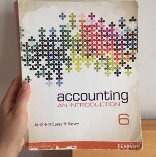 Accounting. An introduction
