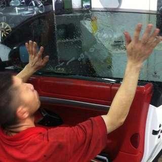 WINDOW  TINTING CAR SOLAR FILMS