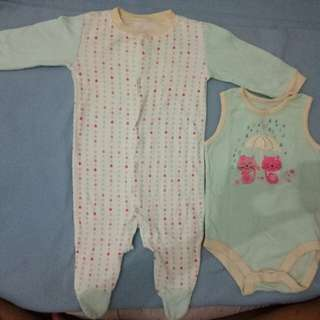 Onesie's for Baby Girls