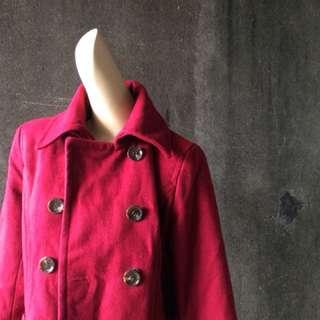 古著 大衣外套 短版